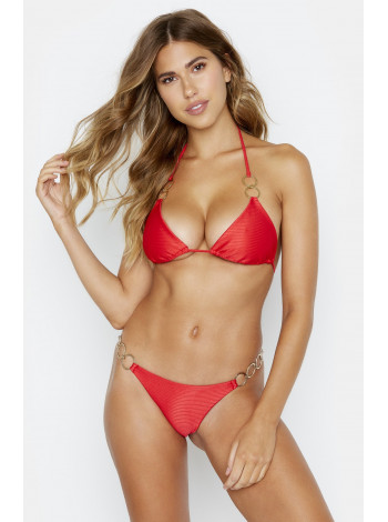 Nadia Triangle Red Beach Bunny  лиф