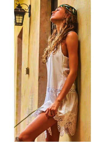 ANASSA платье белого цвета Peixoto